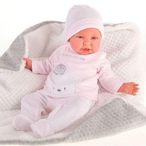 Mi Primera Muñeca Reborn Daniela Pingüi