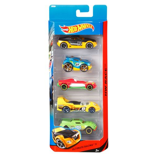 Hot Wheels Pack 5 Vehículos Surtidos