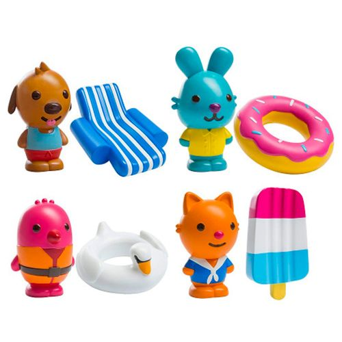 Set Mini Figuras de Baño