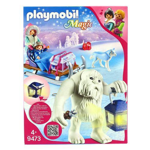 Playmobil Trol de Nieve con Trineo