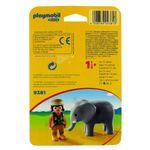 Playmobil-123-Cuidadora-con-Elefante_2