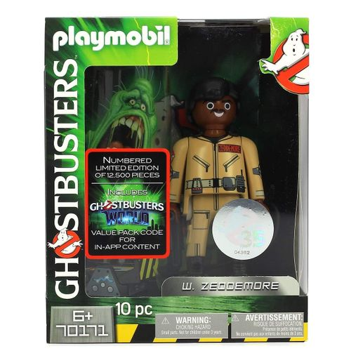 Playmobil Ghostbusters Figura Zeddemore