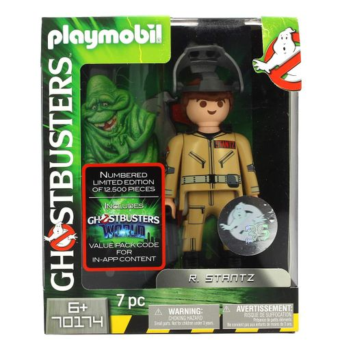 Playmobil Ghostbusters Figura Stantz