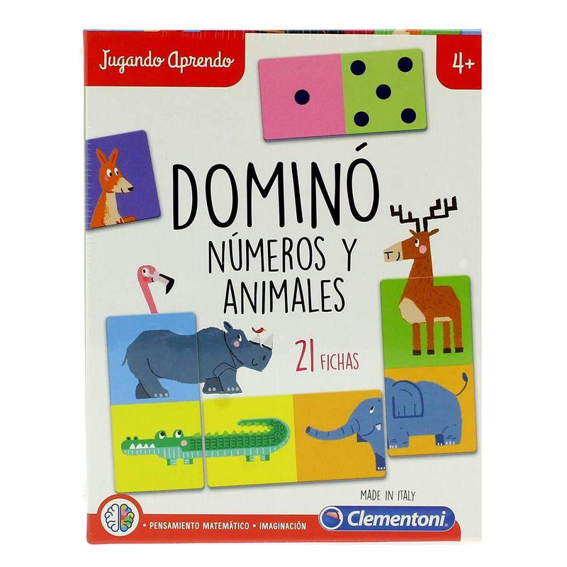 Jugando-Aprendo-Domino-Numeros-y-Animales