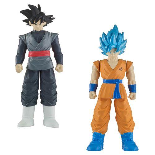Dragon Ball Combate Pack Goku Negro & SS Goku Azul