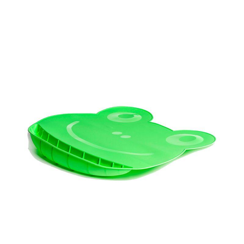 Babero-y-Mantel-de-silicona-Lila-y-Verde_2