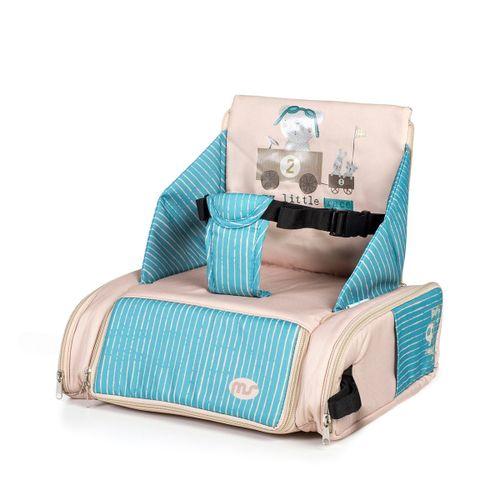 Trona de sobresilla Bag Beig/Azul