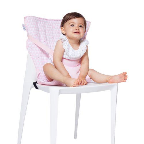 Trona de tela para silla Pink