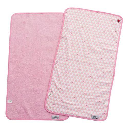 Set 2 cambiadores portátiles Pink