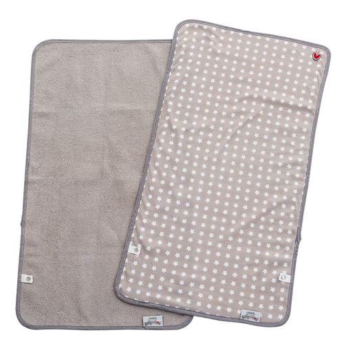 Pack 2 cambiadores portátiles Grey