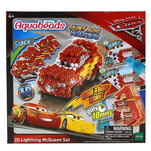 Cars Aquabeads Rayo McQueen 3D