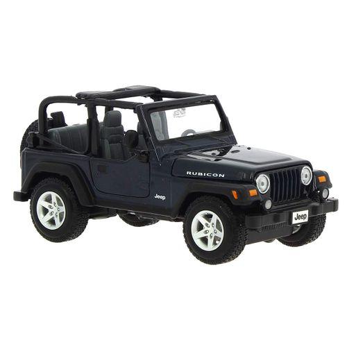 Jeep Wrangler Rubicon color negro 1:27 19