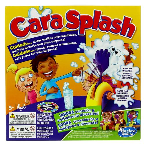 Cara Splash en Cadena