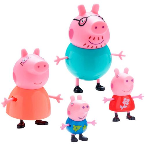 Peppa Pig Figuras Familia Pig