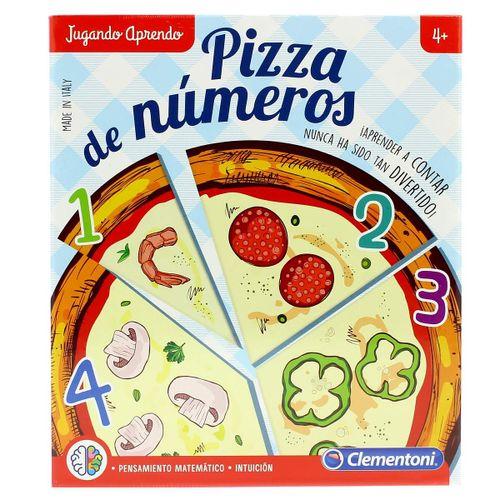 Juego Pizza de Números