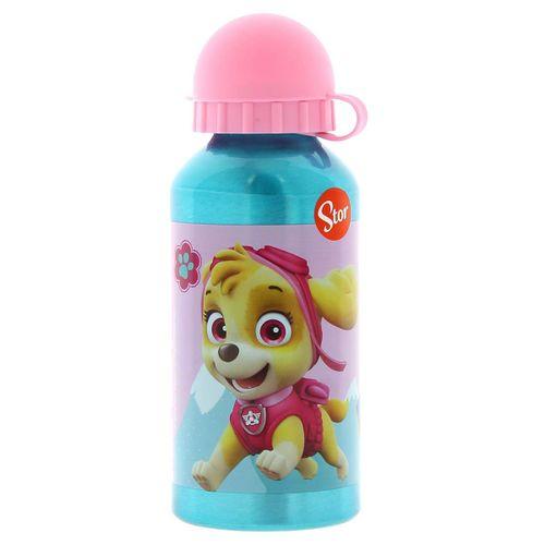 Botella de Aluminio 400 Ml Patrulla Canina Girl