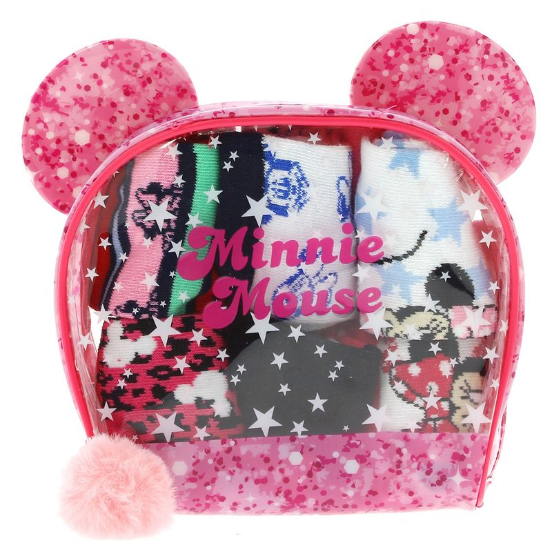 Pack-de-6-pares-de-calcetines-Minnie-5-6-años