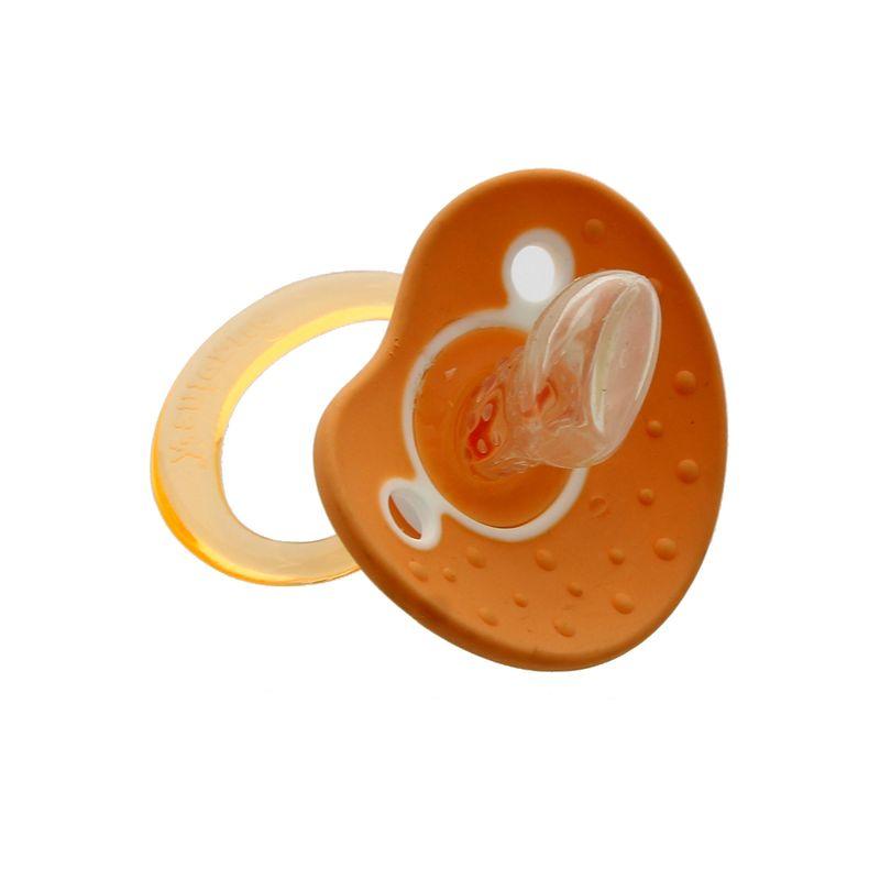 Chupete-orthodontic-de-silicona--6-meses-Naranja_2