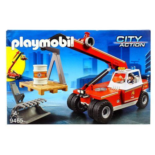 Playmobil City Action Elevador de Bomberos