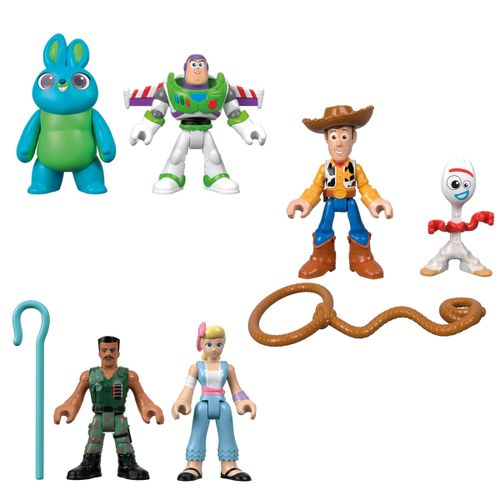Toy Story 4 Imaginext Pack Figuras Surtidas