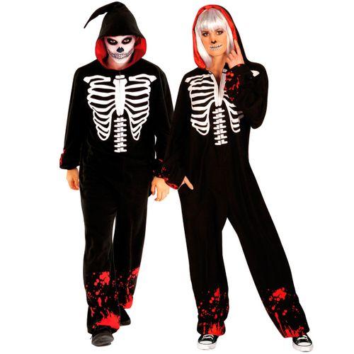 Disfraz Kigurumi Skeleton Unisex Adulto