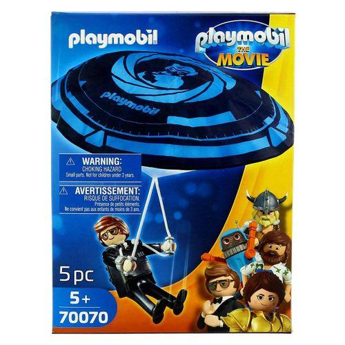 Playmobil Movie Rex Dasher con Paracaídas