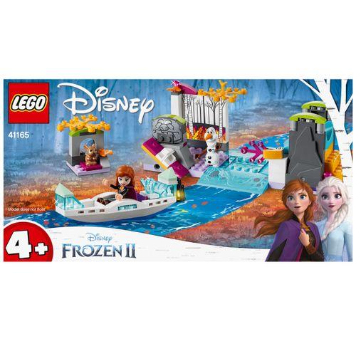 Lego Frozen 2 Expedición en Canoa de Anna