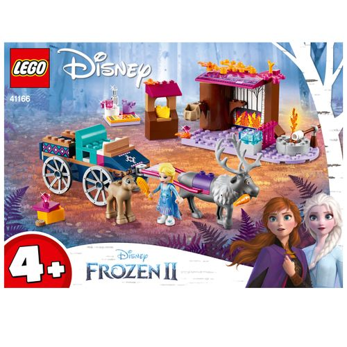 Lego Frozen 2 Aventura en Carreta de Elsa