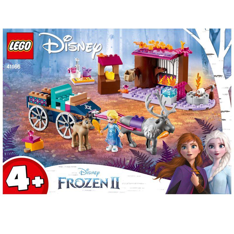 Lego-Frozen-2-Aventura-en-Carreta-de-Elsa