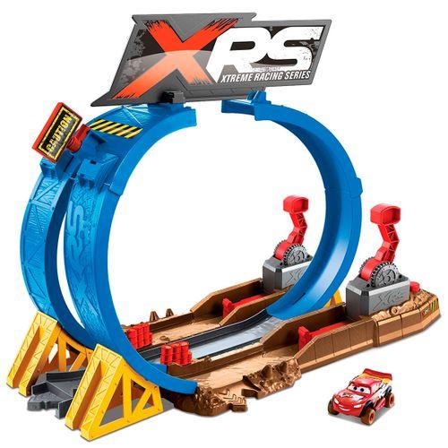 Cars XRS Pista Superlooping Carreras en el Barro