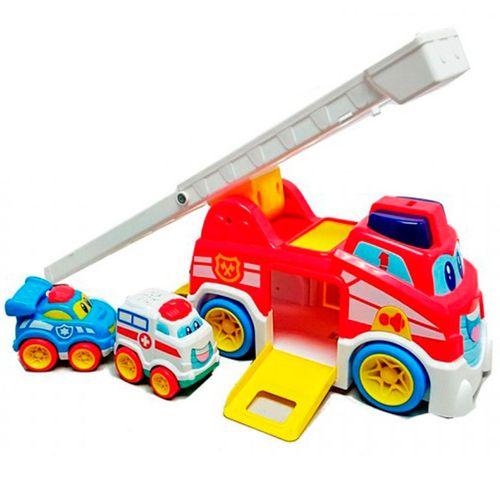 Camión de Bomberos Infantil Vroom Vroom