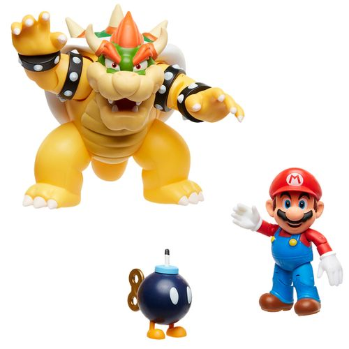 Super Mario Set Mario vs Bowser