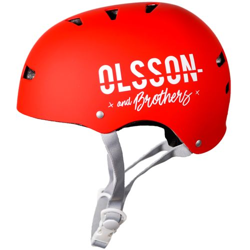Casco Olsson Rojo