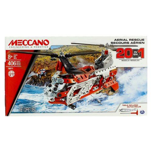 Mecanno Rescate Aéreo 20 Modelos
