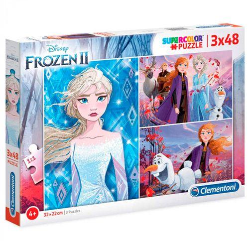 Frozen 2 Puzzle 3x48 Piezas
