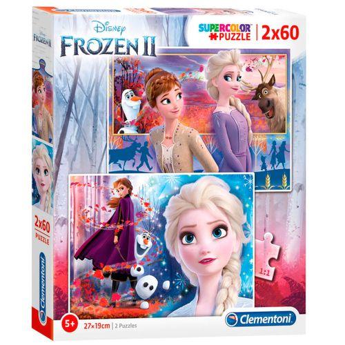 Frozen 2 Puzzle 2x60 Piezas