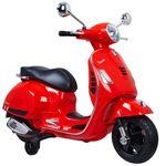 Moto-Vespa-Roja-Bateria