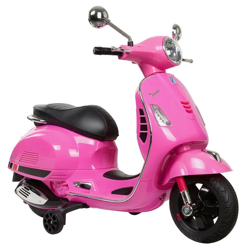 Moto-Vespa-Rosa-Bateria