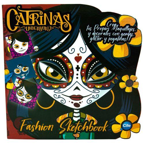 Catrinas Underworld Fashion Sketchbook