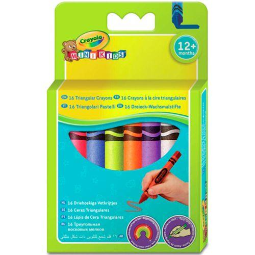 Pack 16 Ceras de Colores