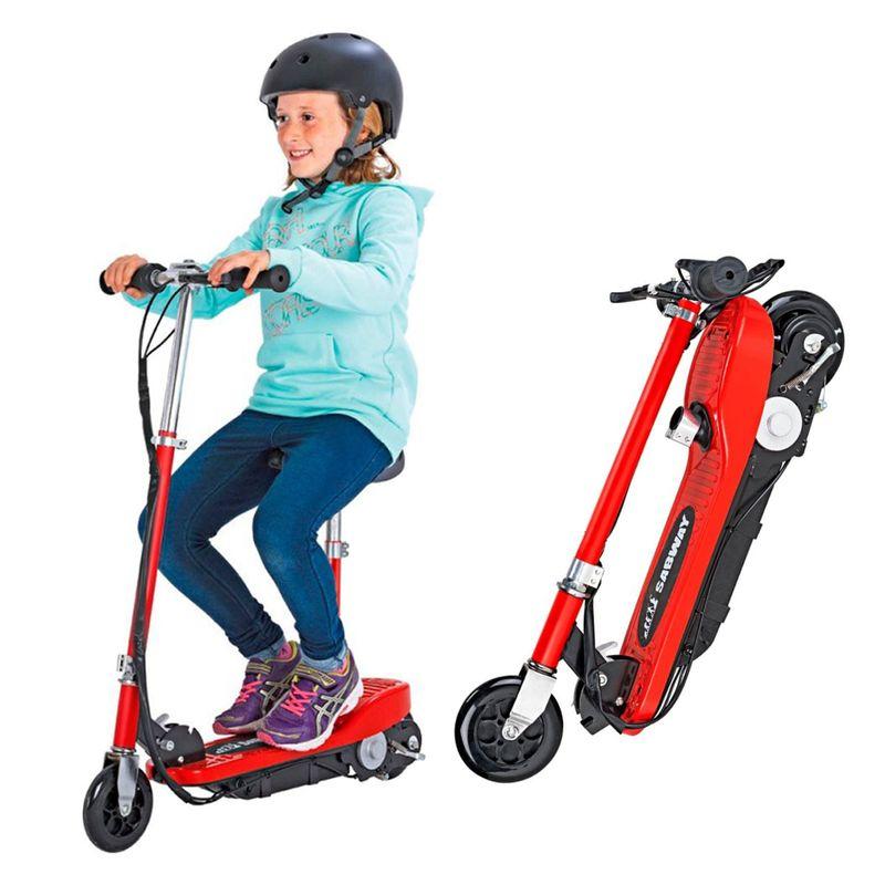 Patinete-Electrico-Infantil-Sabway-120W-Rojo