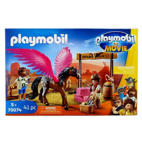 Playmobil Movie Marla, Del y Caballo con Alas