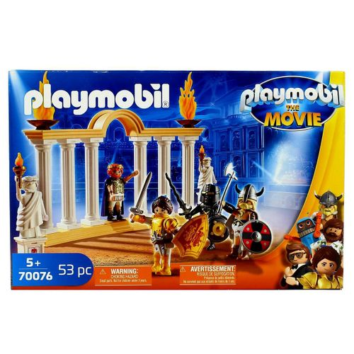 Playmobil Movie Emperador Maximus en el Coliseo