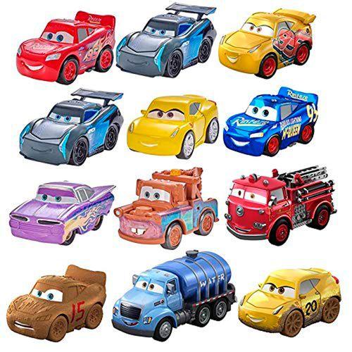 Cars Mini Racers Pack 3 Mini Vehículos Surtidos
