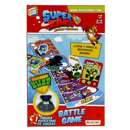 Superzings Juego Enigma Battle Game