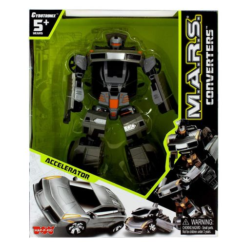 Robot Transformable Gris