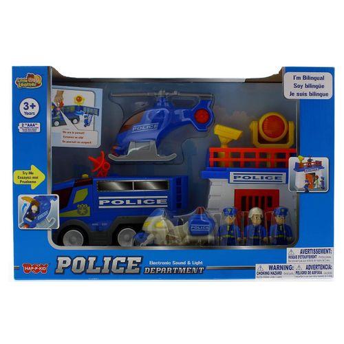 Playset Estación de Policía Infantil