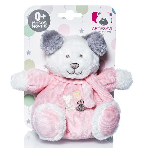 Mini perrito Tomy rosa