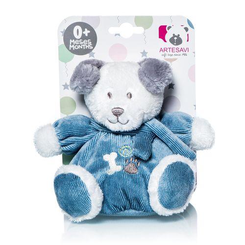 Mini perrito Tomy azul