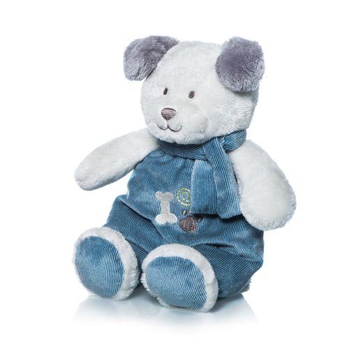 Sonajero de perrito Tomy azul